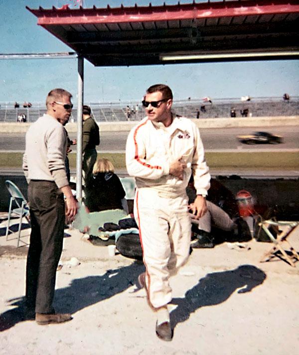 Larry Perkins 1966 Daytona